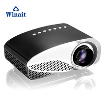 Winait simple home use GP7S Portable Children's toys Projector,mini led Micro projector than 3D Projector will be better