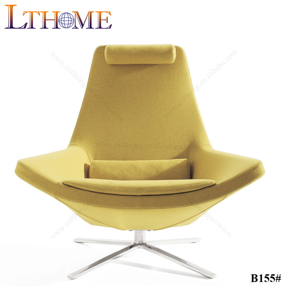 yellow wool fabric lounge <strong>chair</strong>