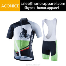 custom design cheap price comfortable fabric high quality quick dry custom cycling jersey and cycling bib shorts