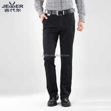New design synthetic fiber cotton fashion office men pants