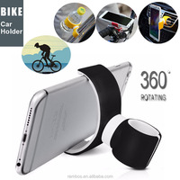 Universal Car Bike Clip Mount Holder 360 Degrees Rotating Stand Air Vent Holder for iPhone for Samsung Camera GPS