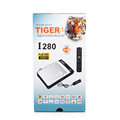 Tiger receiver hd I280 HD1008P support iptv server satellite tv receiver