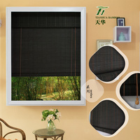 High quality type of office window curtain/cheap bamboo curtain