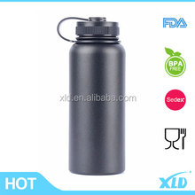 Outdoor double layer metal thermos top saler vacuum flask