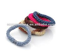 Fashion fancy elastic hair bands accessories