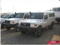 Toyota Land Cruiser 78 Metal top 4.2L Diesel blind/armoured BR6 transport de fond/cash in transit (2015) Neuf