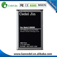OEM Mobile Phone Battery For Samsung Galaxy Note 3 Battery N9000 Battery