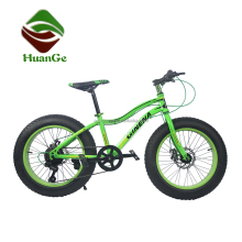 7 speed 20 inch fat bike 20 fat tire bicycle with double disc brakes/bicycle manufacturer in guangzhou