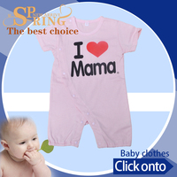 Custom and wholesale baby girl sleep suits