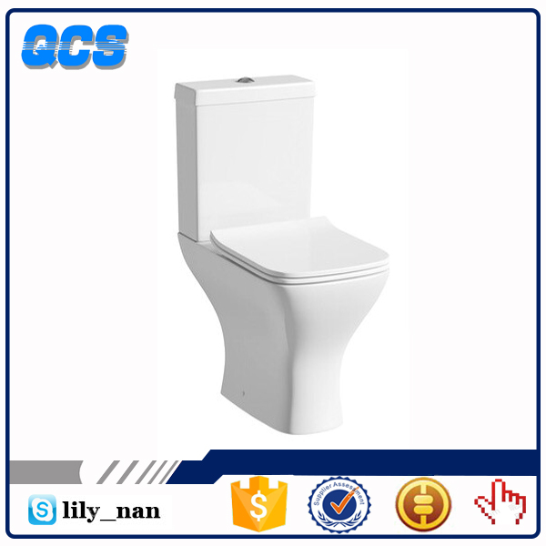 New design Floor mounted gravity bathroom ceramic WC