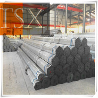 Tianjin manufacturer TSX-GP 13706 galvanized steel pipe for greenhouse frame/galvanized steel tube