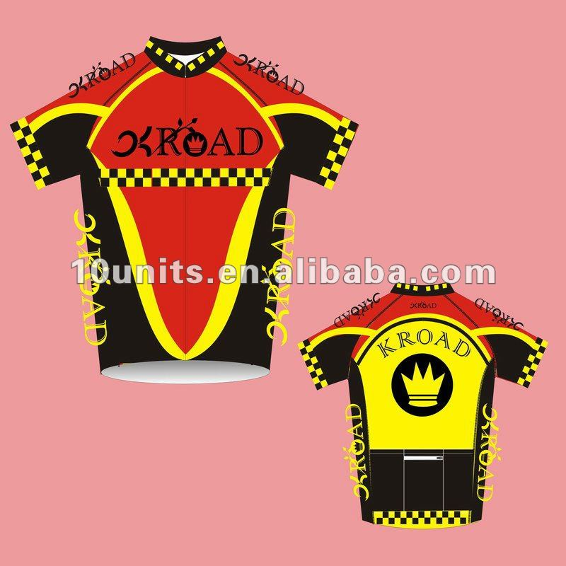 2014 Men`s bicycle racing Jersey for sublimation Patterns cycle running T-shirts