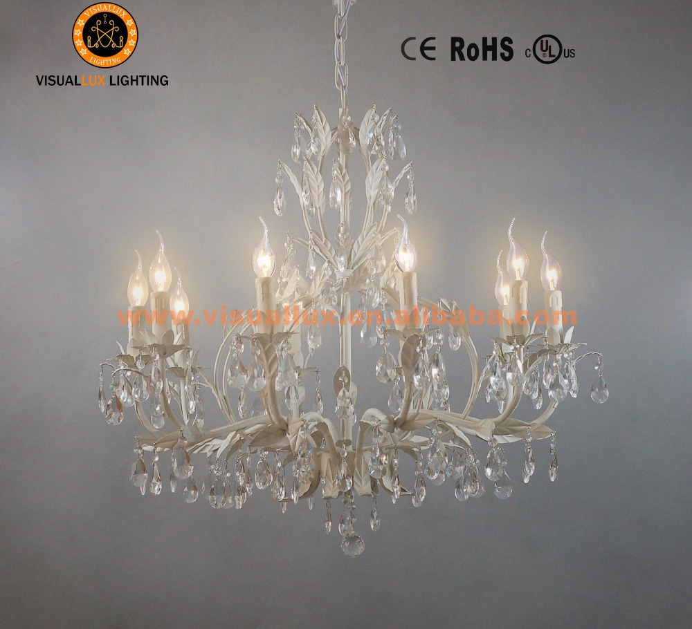 Wh wholesale vintage lead crystal table lamp buy cheap - Classic Leave Chandelier Lamp Ic4061 10wh Chandelier Parts Crystal Light Pendant Lighting