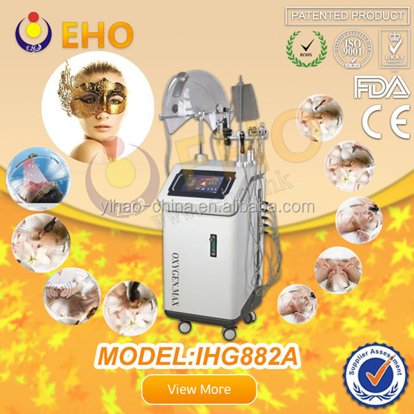 alibaba express turkey ! BIO phonton ultrasonic oxygen machine aesthetic facial