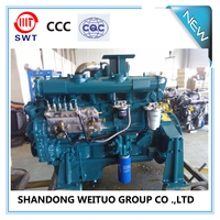 Chinese 120kw ricardo diesel engine 6 cylinder diesel engine for sale