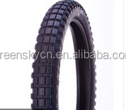 Chinese 2.25-19 high quality motorcycle tyres with ISO9001 certificate