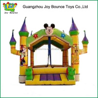 2015 micky mouse naughty castle inflatable jumper for toddler