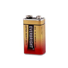 Super heavy duty battery 9v 6f22 battery Primary & Dry Batteries