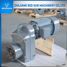 F series parallel shaft reduction gear box