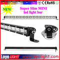 "Single row mini offroad led light bar 25"" 72W thin led bar light par"