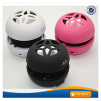 AWS049 Promotion Gift Hamburger Speaker Active Mini Digital Sound Box Speaker