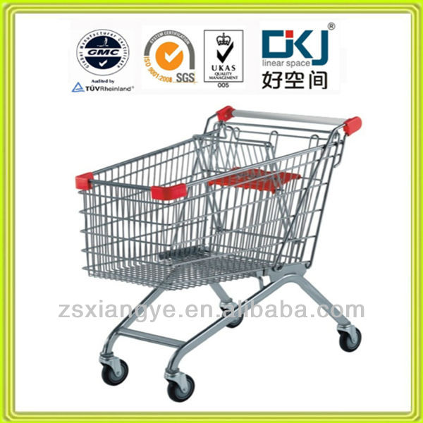 120L European Style Retail Shopping Trolley XYT-120RC