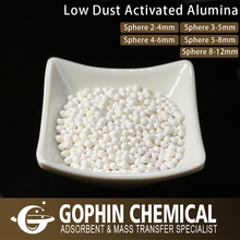 Surface Area 300-350m2/g Desiccant Activated Alumina Ball