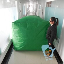 colorful inflatable classic motorcycle dome cover for sale