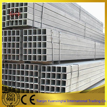 wholesale japanese galvanized square tube / rectangular steel pipe price