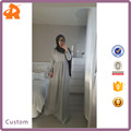 China Supplier Wholesale Muslim Long Sleeve Maxi Dress Women Fashion Muslim