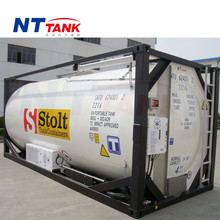 Stainless steel intermodal shipping large portable tank containers