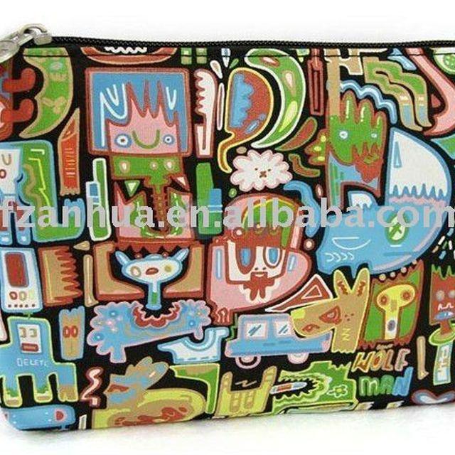 Cartoon Charm Cosmetic Bag