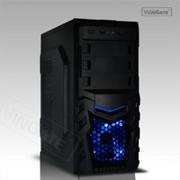 Black ATX PC Computer Case For