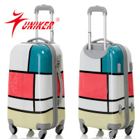 2014New Arrival 4 universal wheels trolley luggage,Monsca travel trolley lugage