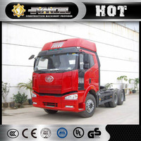 China 6*4 FAW J6 container semi trailer truck tractor International tractor truck head for sale