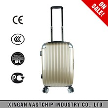Alibaba Hot Selling PC Hard Shell Trolley Travel Luggage bags stock suitcase