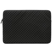 Laptop Sleeve 13 inch Diamond Foam Splash & Shock Resistant Neoprene Universal Sleeve Zipper Case Bag for laptop notebook
