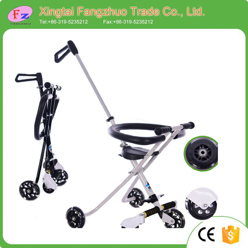 The Best selling 3 wheel children trike foldable baby tricycle