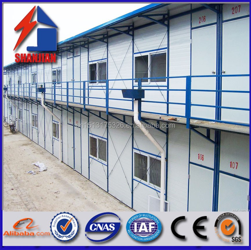 Multi-floor steel structure Prefabricated house for Resident made in china