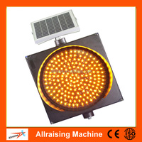 Road Safety Portable led Solar Traffic Light