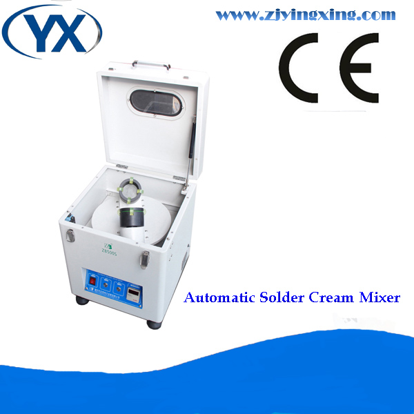 SMT Low Noise Automatic Soldering Cream Mixer YX500S 500g-1000g Make Pcb Line Machine