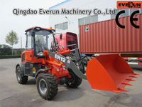 EVERUN Brand Garden Machinery ER12 Wheel Loader with Snow Blade