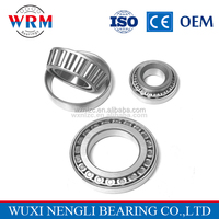 Low price taperd cone coniform conical roller bearings 33220 for go karts conical roller bearings