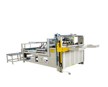 Semi Automatic Corrugated Box Folding And Gluing Machine
