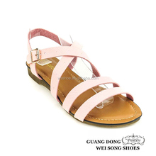 Factory outlets best service prompt delivery summer ladies casual open toe model sandal 2015