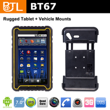 HLA51 MTK 6582 RAM1GB + ROM16GB NFC BATL BT67 outdoor best gps tracker tablet industrial,for built-in vehicle