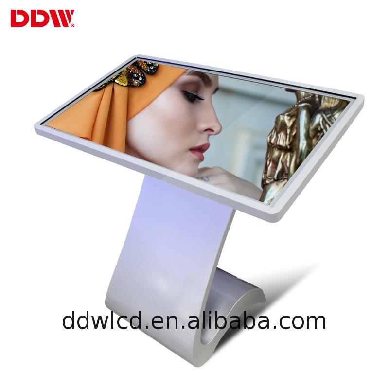 2017 hot sale 3g touch screen kiosk 37 inch monitor DDW-AD3701TK