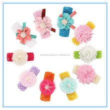 Baby flower headbands infant korean hair band Baby headwear flower hair accessories headbands for baby