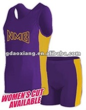 2012/13 latest men's compression track uniforms for oem service