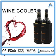 Gel ice packs wholesale cheap plastic wine cooler box